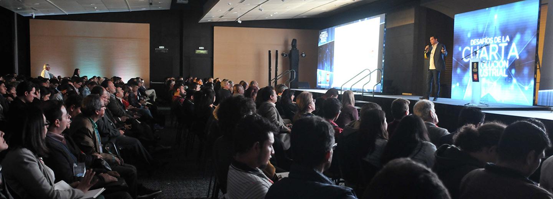 Se realizó en Bogotá el foro «Desafíos de la Cuarta         Revolución Industrial», evento organizado por la Universidad         Nacional de Colombia (División de Extensión sede Bogotá e         Instituto de Estudios Urbanos) y el diario La República (Foto:         Unimedios)