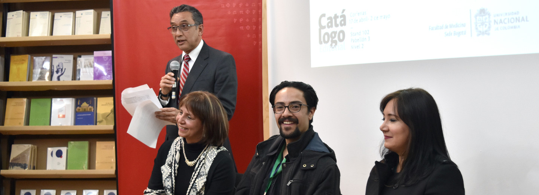 Comenzó la participación de la Universidad Nacional de         Colombia en la XXXI Feria Internacional del Libro de Bogotá         (Foto: Laura Berrío)