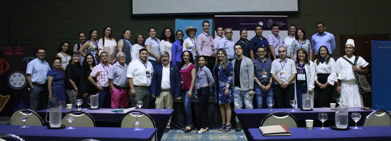 Se realizó en Villavicencio el evento de conexión del         Ecosistema de Ciencia, Tecnología e Innovación Región Llanos,         impulsado por la DNEIPI y la sede Orinoquia, en el que también         se llevó a cabo la entrega del Reconocimiento al Espíritu         Innovador U.N. 2017 (Foto: DNEIPI)