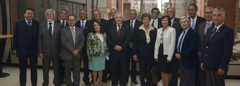 Se realizó el evento de lanzamiento del Centro de         Pensamiento en Política Fiscal (CPPF) de la Escuela Permanente         de Pensamiento Universitario de la U.N., una de las         iniciativas ganadoras de la Convocatoria Nacional         Sesquicentenario (Foto: Andrés Barriga/VRI)