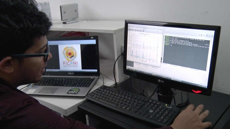 Con el FiCoRI (First Colombian Solar Radio Interferometer)         creado por el físico Juan Camilo Guevara Gómez se analizaron         datos obtenidos de un estallido solar asociado con una         fulguración (Foto: archivo particular vía Unimedios)
