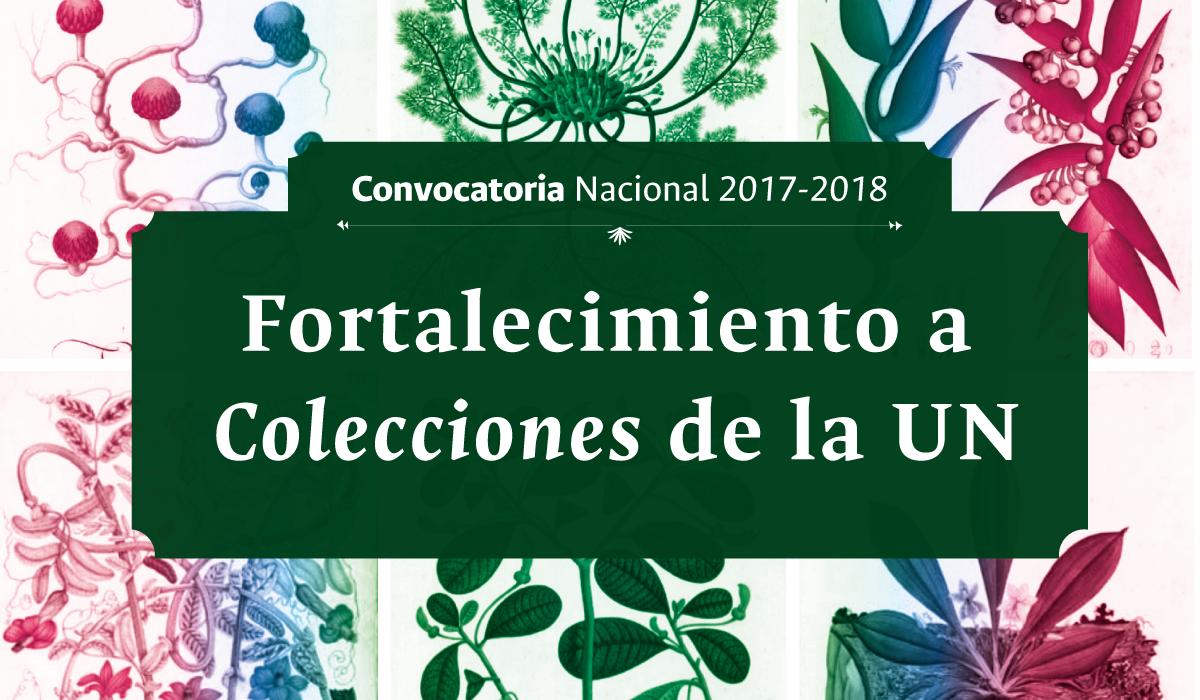 Convocatoria Nacional para el Fortalecimiento a Colecciones de la Universidad Nacional de Colombia 2017-2018