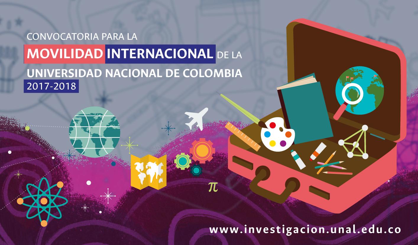 Adenda 1 - Convocatoria Nacional para el Apoyo a la Movilidad Internacional de la Universidad Nacional de Colombia 2017-2018