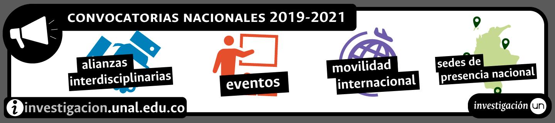 Convocatorias SIUN 2019-2021