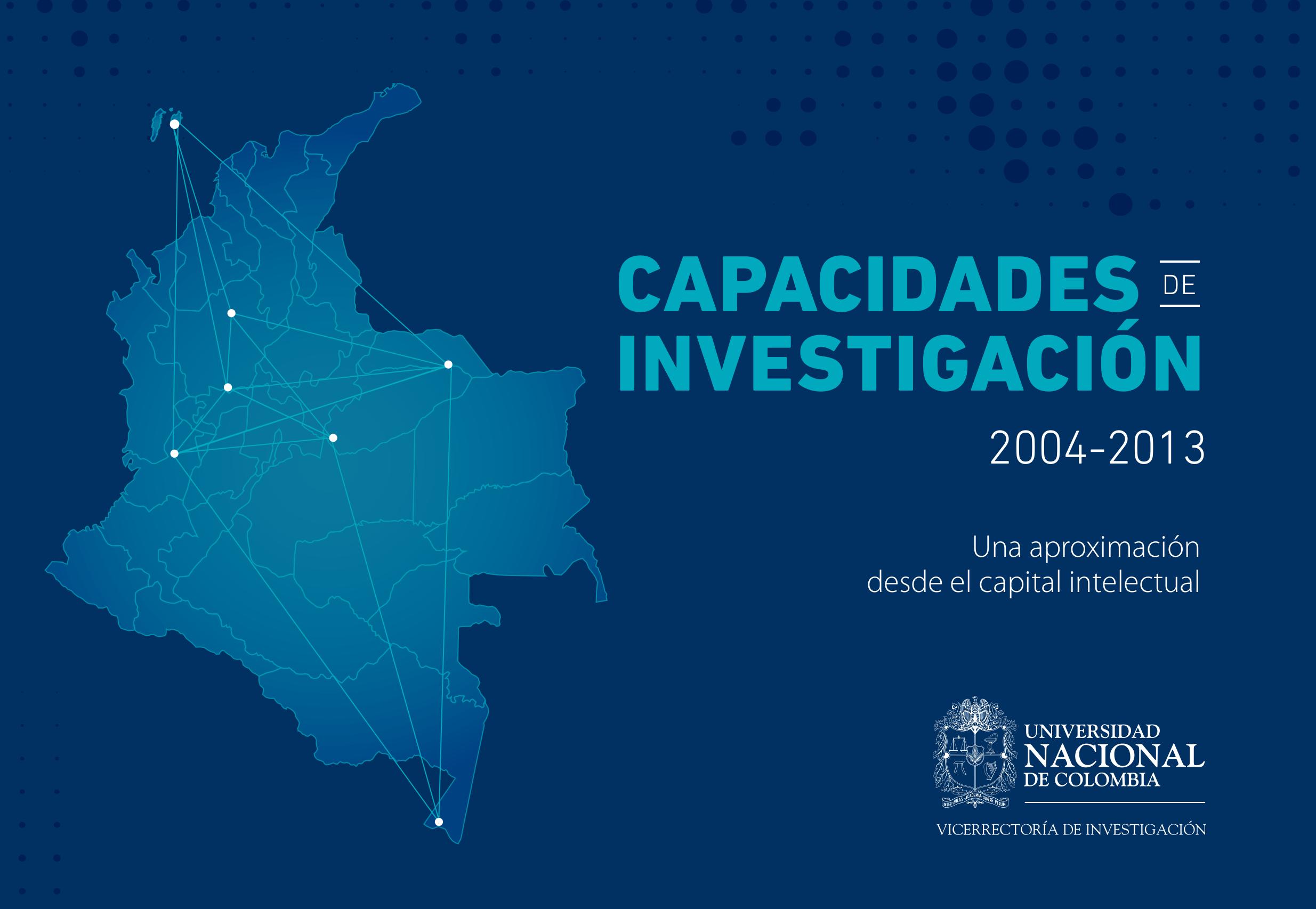Libro 'Capacidades de investigación (2004-2013)'