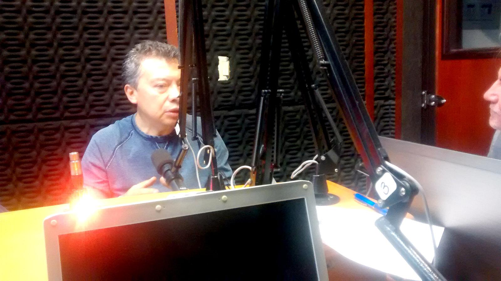 Julio César Goyes y Richard Hernández
