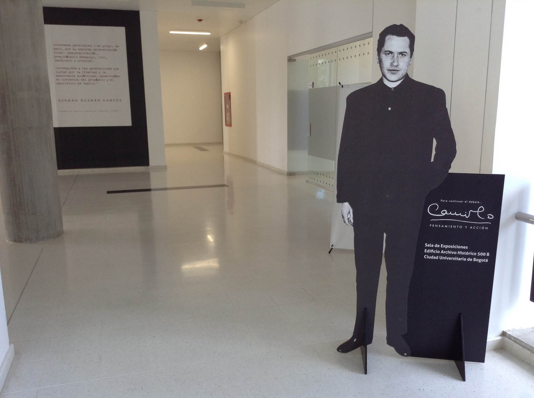 Exposición documental «Camilo: pensamiento y acción»