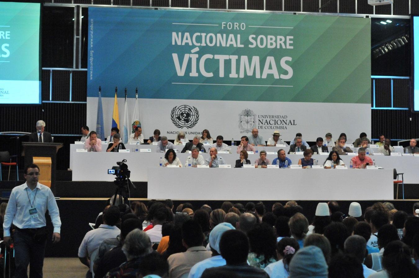 Foro Nacional sobre Víctimas