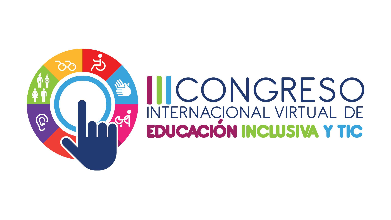 Logo del III Congreso Internacional virtual de Educación Inclusiva y TIC