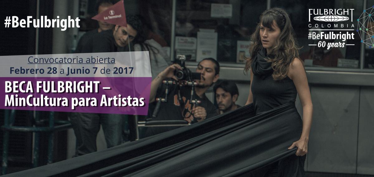 Beca Fulbright-MinCultura para Artistas 2017