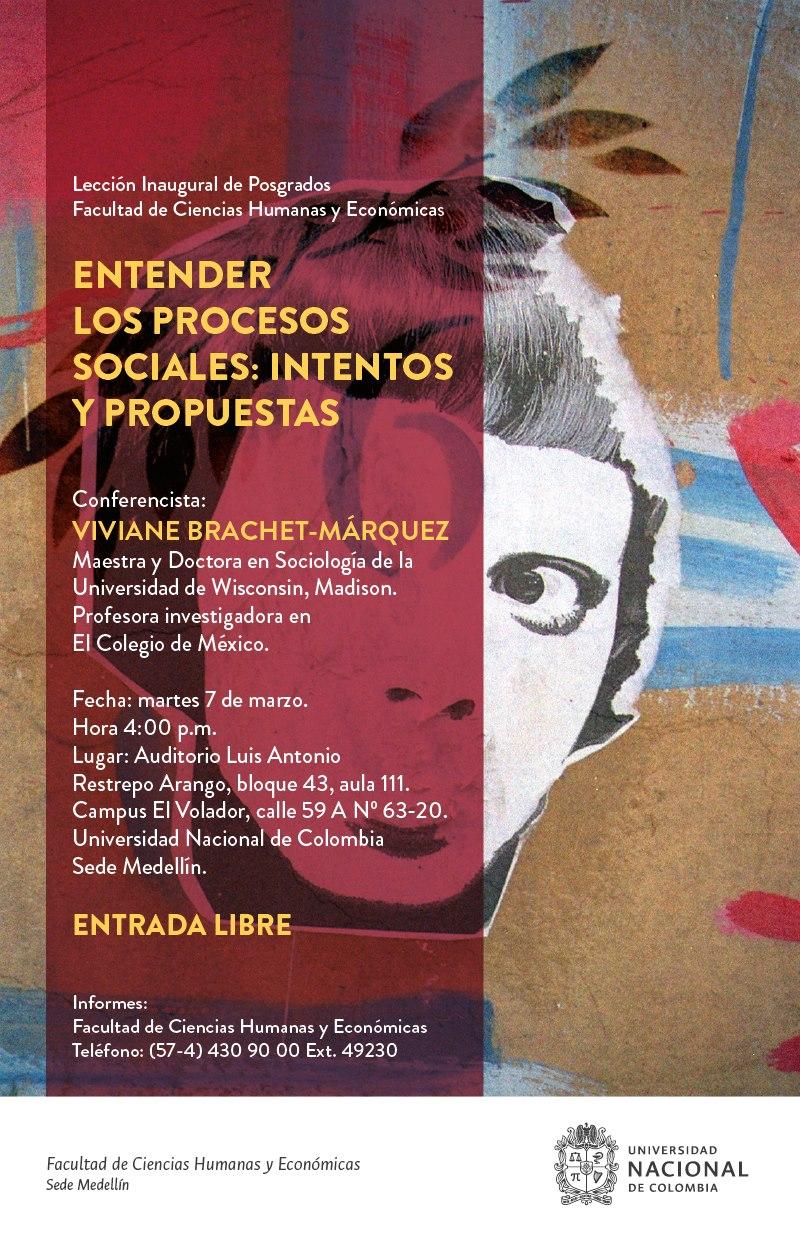«Entender los procesos sociales: intentos y propuestas» (Viviane Brachet-Márquez)