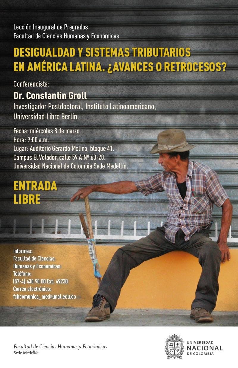 Desigualdad y sistemas tributarios en América Latina. ¿Avances o retrocesos?» (Constantin Groll)