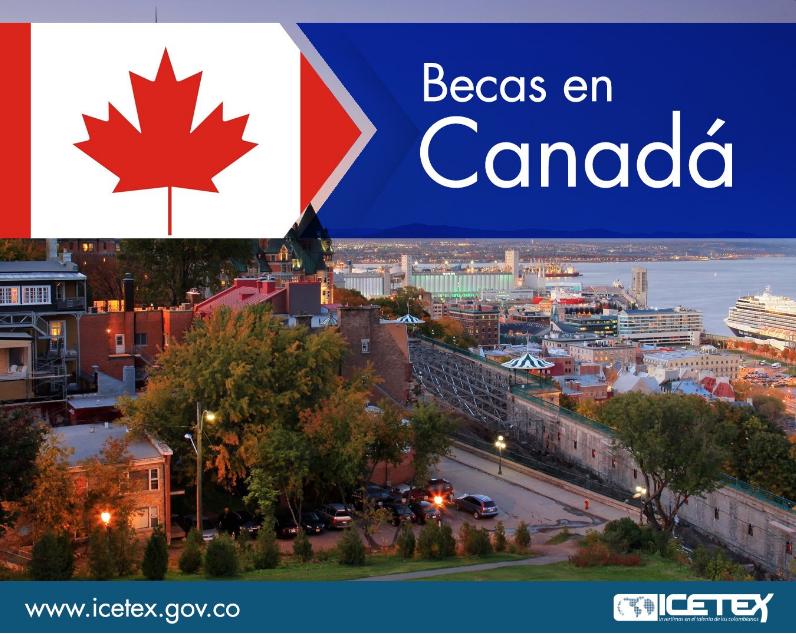 Becas en Canadá (ICETEX)