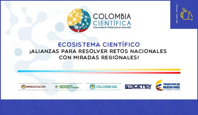 Ecosistema Científico para la conformación de un banco de programas de I+D+i elegibles que contribuyan al mejoramiento de la calidad de las Instituciones de Educación Superior colombianas 2017