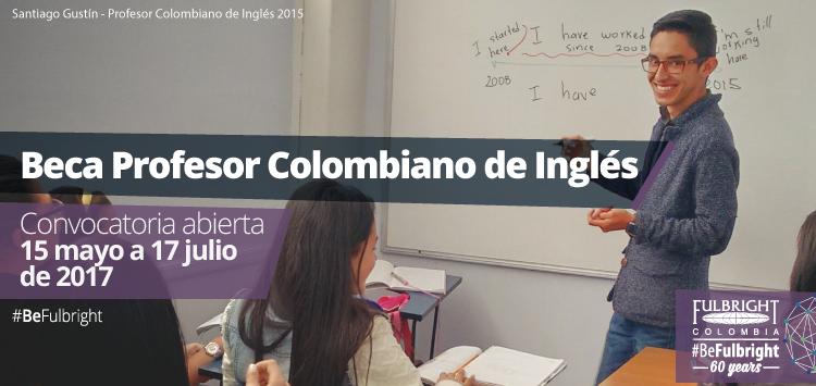 Beca Profesor Colombiano de Inglés (FLTA) 2017