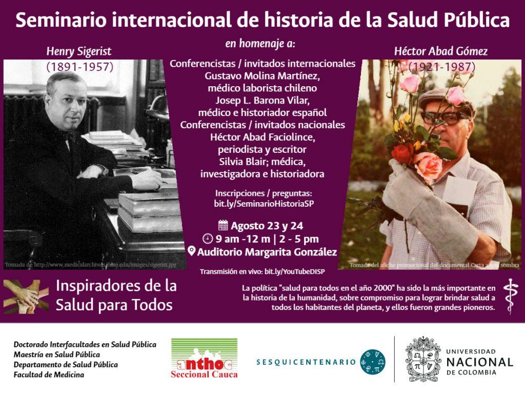 Seminario Internacional de Historia de la Salud Pública
