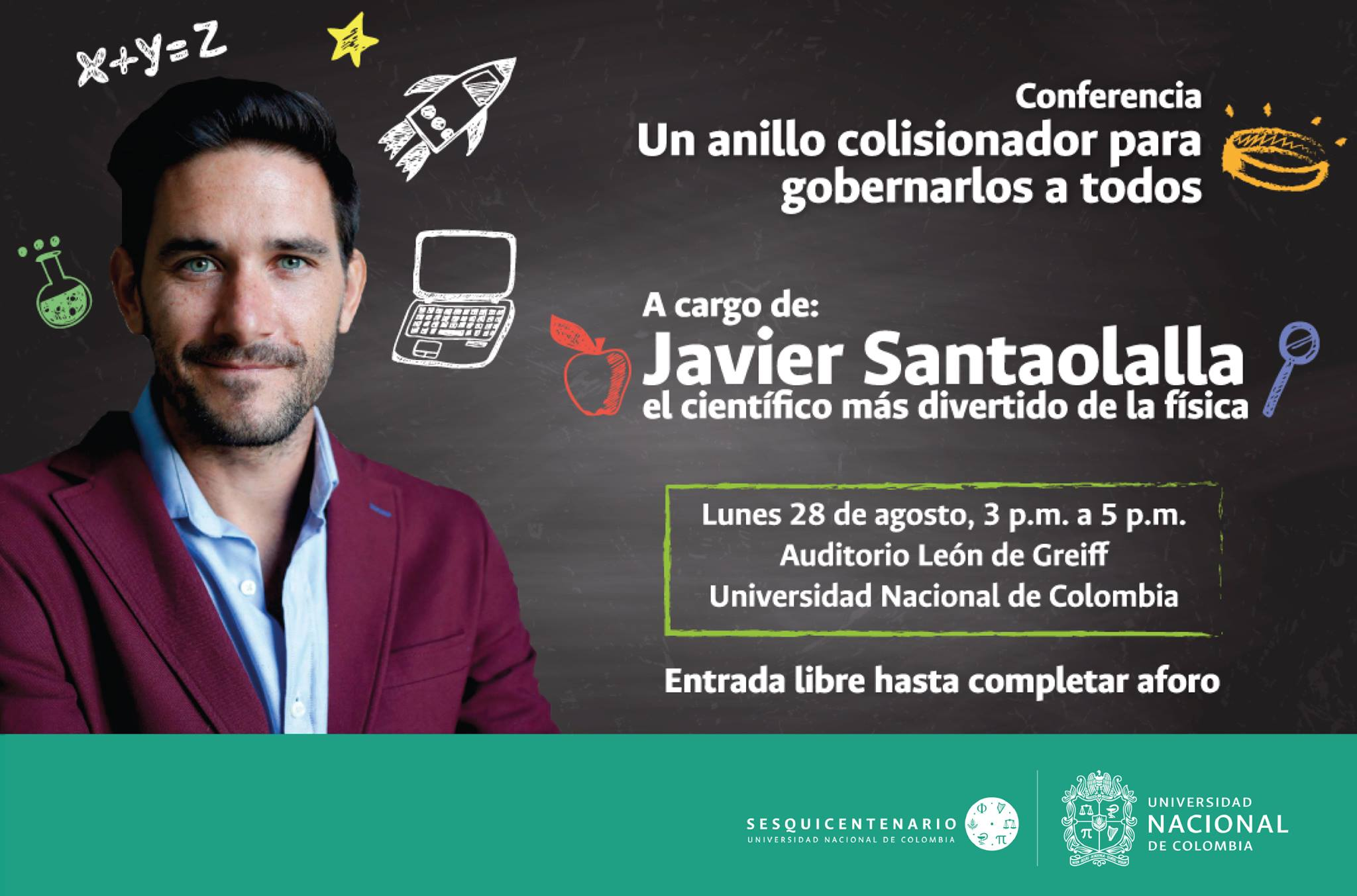 Conferencia «Un anillo colisionador para gobernarlos a todos» (Javier Santaolalla)