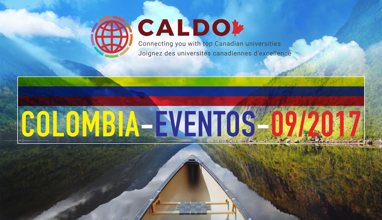 Presentaciones de las universidades canadienses del Consorcio CALDO en Colombia