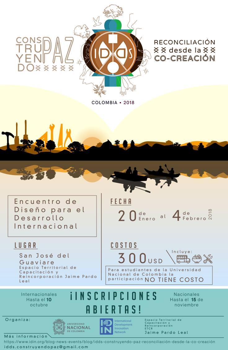 «IDDS Construyendo Paz - Reconciliación desde la Co-creación»