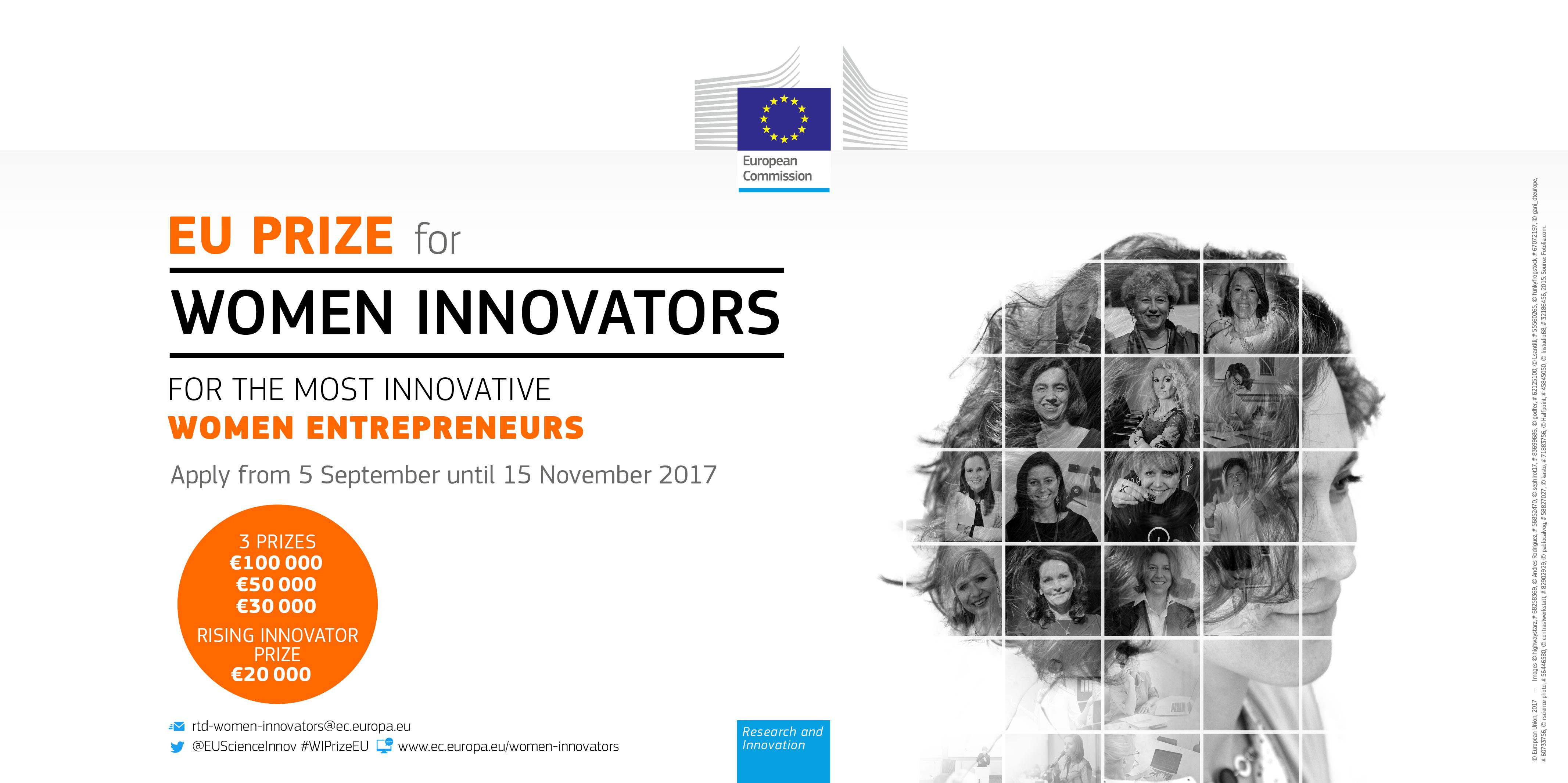 EU Prize for Women Innovators 2018
