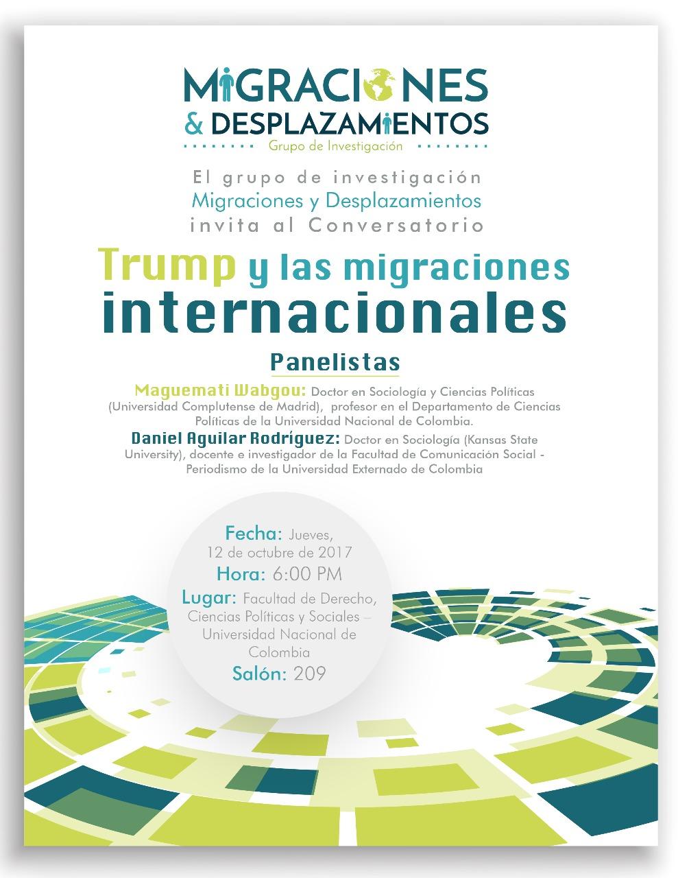Conversatorio «Trump y las Migraciones Internacionales»