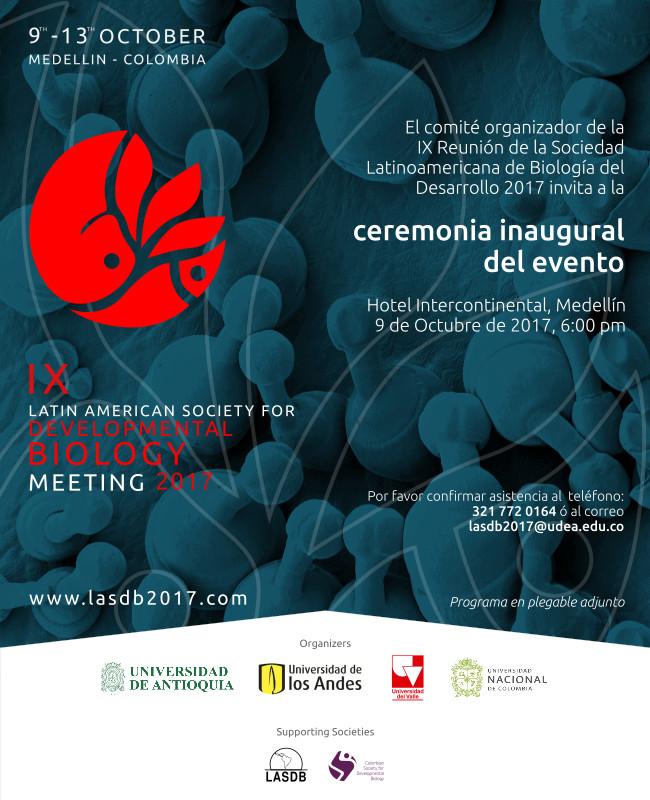 IX Reunión de la Sociedad Latinoamericana de Biología del Desarrollo