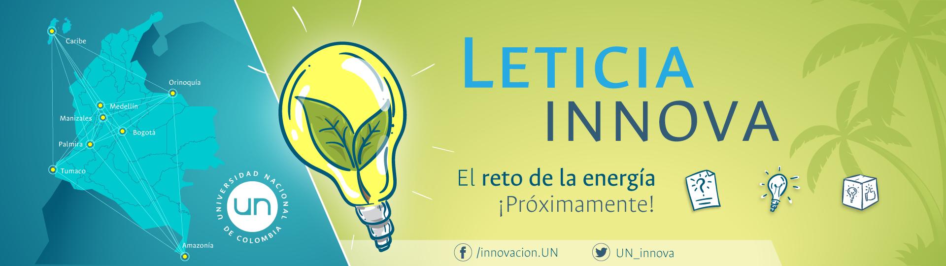 Reto UN Innova: soluciones para uso eficiente de energía en Leticia