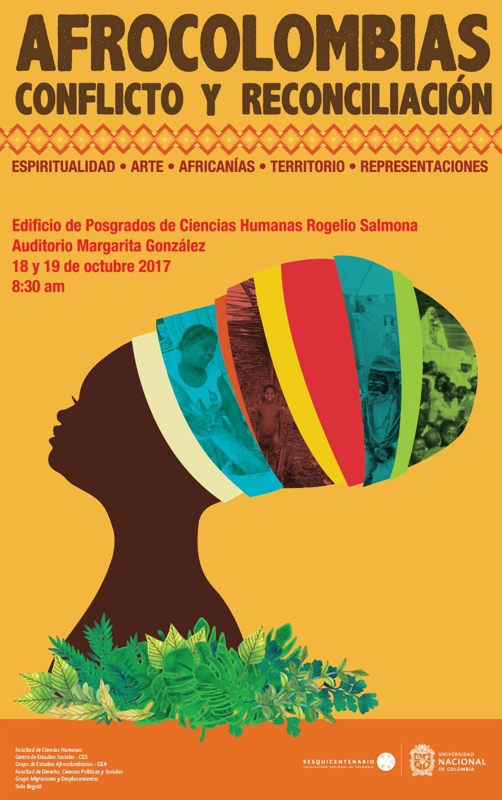 Conversatorio «Afrocolombias, conflicto y reconciliación»