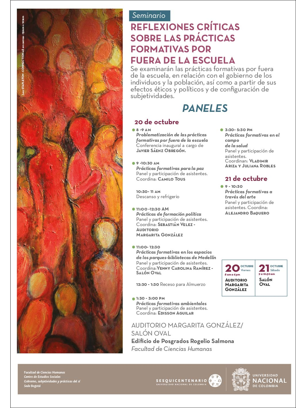 Seminario «Reflexiones críticas sobre las prácticas formativas por fuera de la escuela»