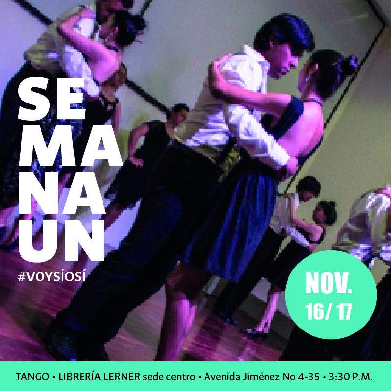 [#SemanaUN en la Lerner] Presentaciones Grupo Artístico Institucional de Tango y Grupo Artístico Institucional de Danza Árabe