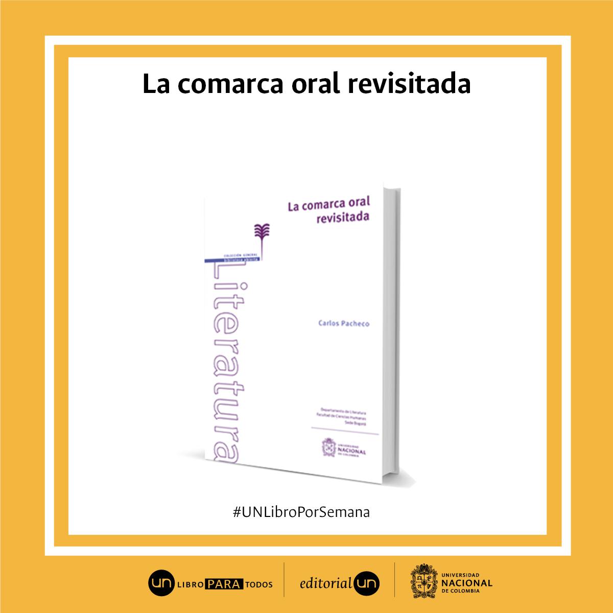 #UNlibroporsemana: 'La comarca oral revisitada'