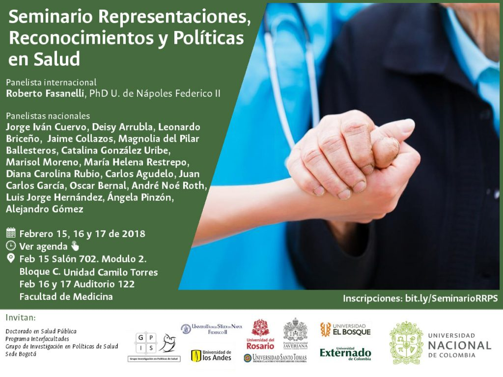 Seminario «Representaciones, reconocimientos y políticas en salud»