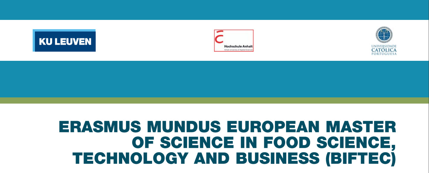 European Master of Science in Food Science, Technology and Business (BiFTec)