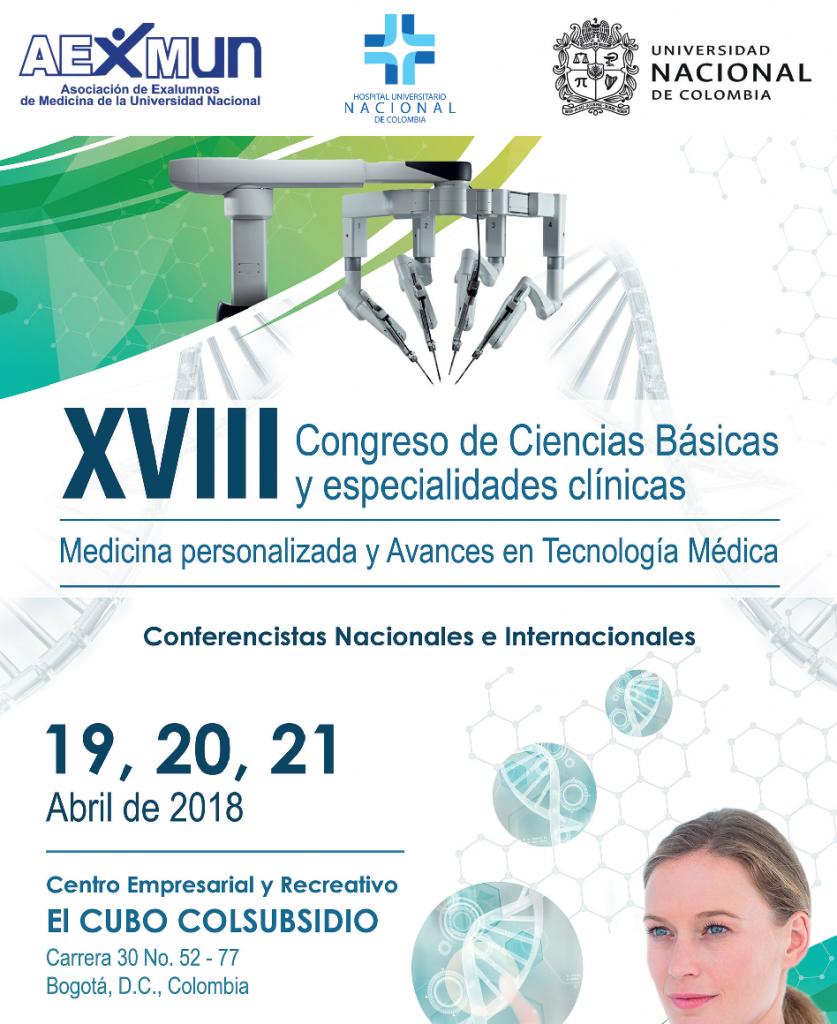 XVIII Congreso de Ciencias Básicas y Especialidades Clínicas