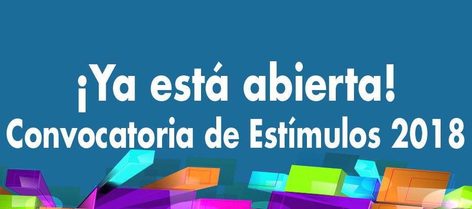 Programa Nacional de Estímulos 2018 (Ministerio de Cultura)