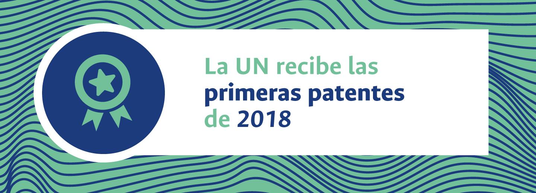 La Universidad Nacional de Colombia recibe las primeras patentes de 2018