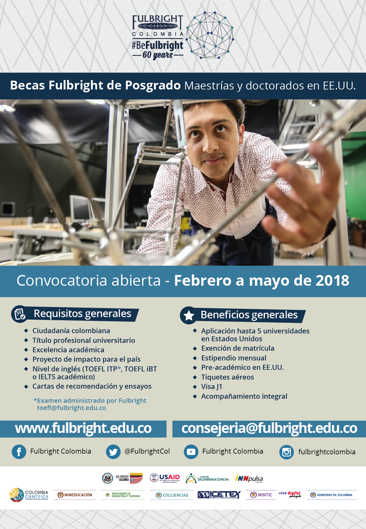 Fulbright Colombia 61 años