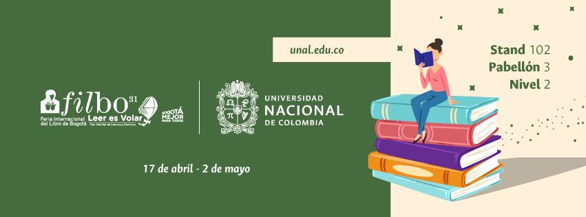 Programación de la Editorial UN en la Feria Internacional del Libro de Bogotá 2018 (FILBo2018) [segunda semana]