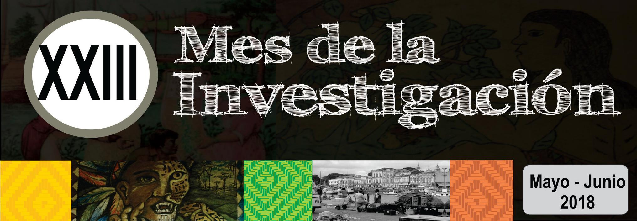 XXIII Mes de la Investigación de la sede Amazonia