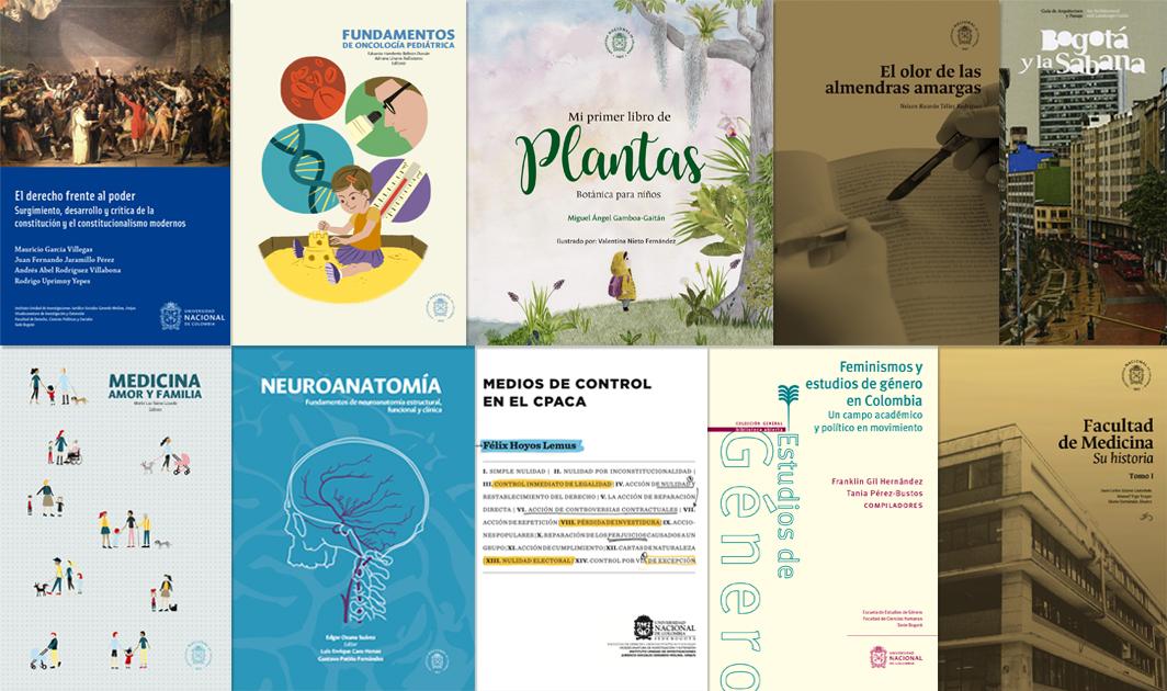 Los 10 libros más vendidos de la Universidad Nacional de Colombia en la 31.ª Feria Internacional de Libro de Bogotá, 2018