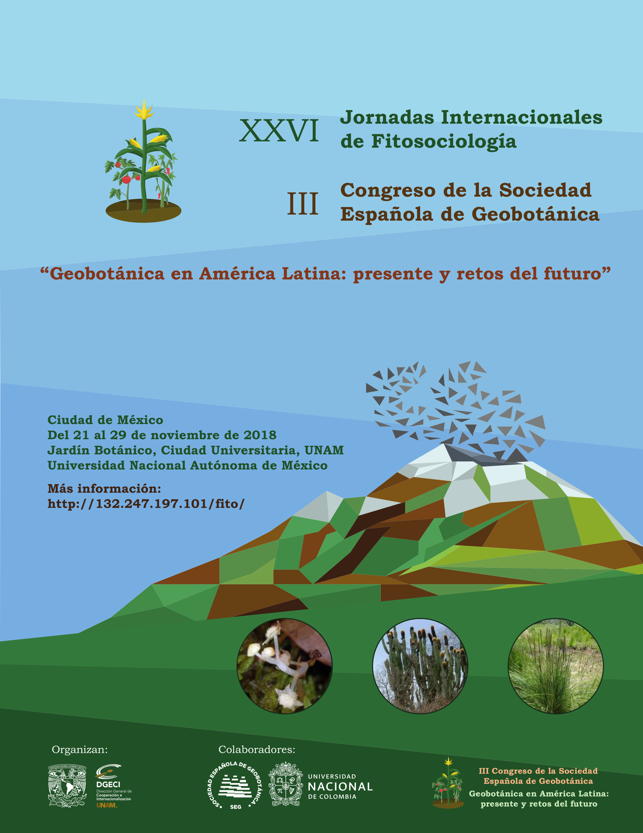 XXVI Jornadas Internacionales de Fitosociología «Geobotánica en América Latina: presente y retos del futuro»