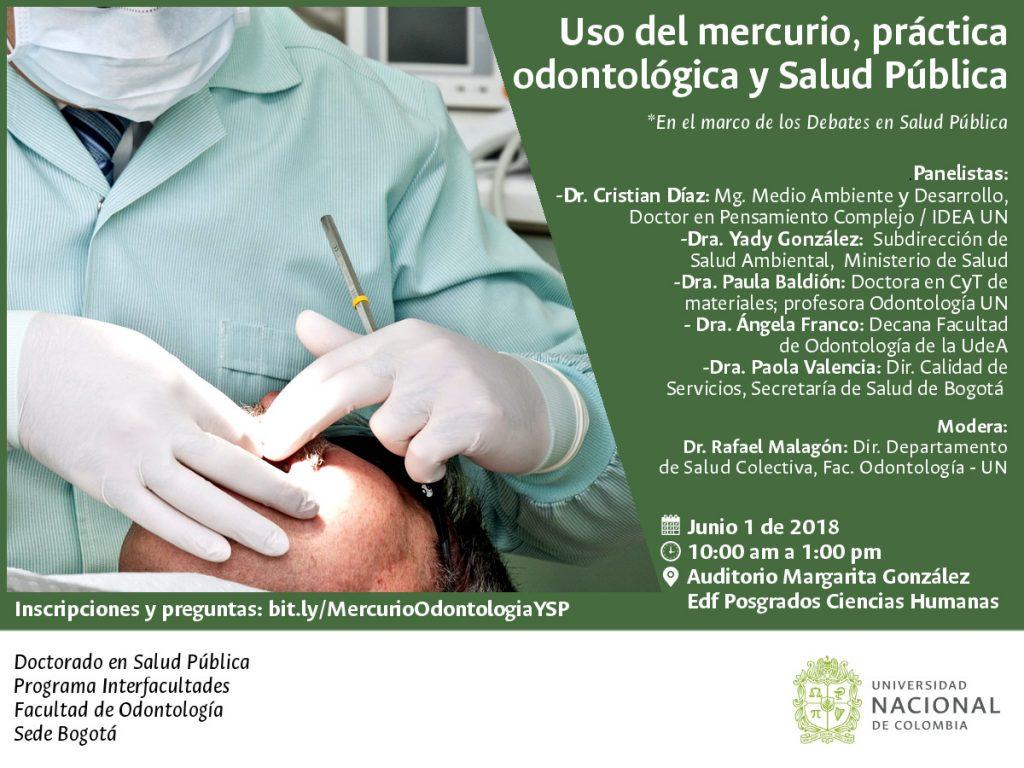 Debates en Salud Pública: «Uso del mercurio, práctica odontológica y salud pública»