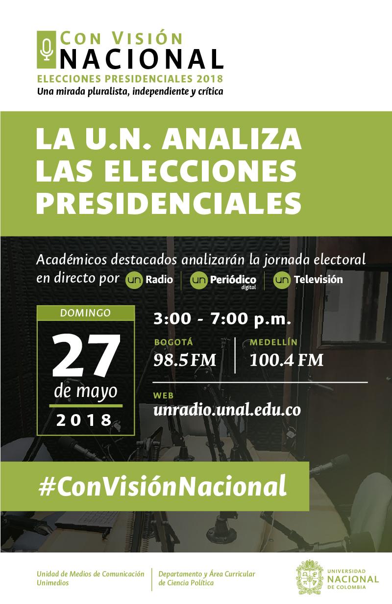 Elecciones 2018 en U. N. Radio