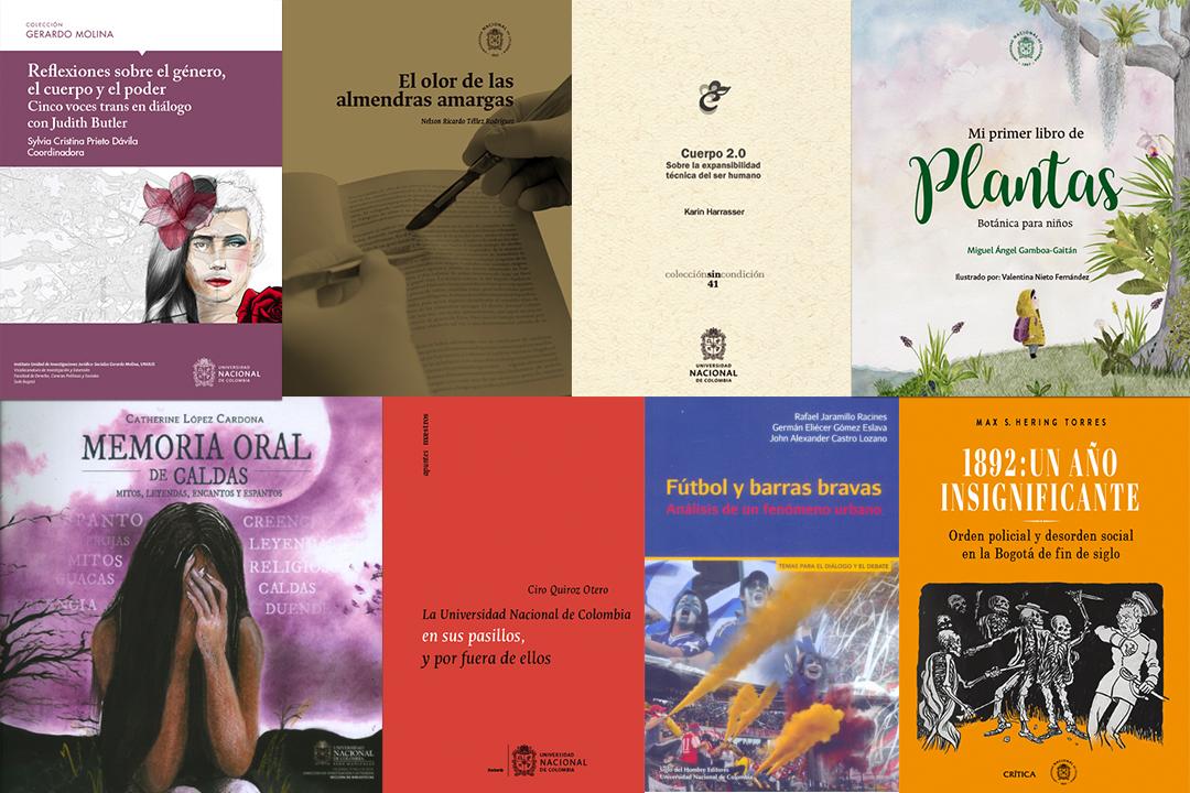 Ocho libros de la Universidad Nacional de Colombia para leer en vacaciones