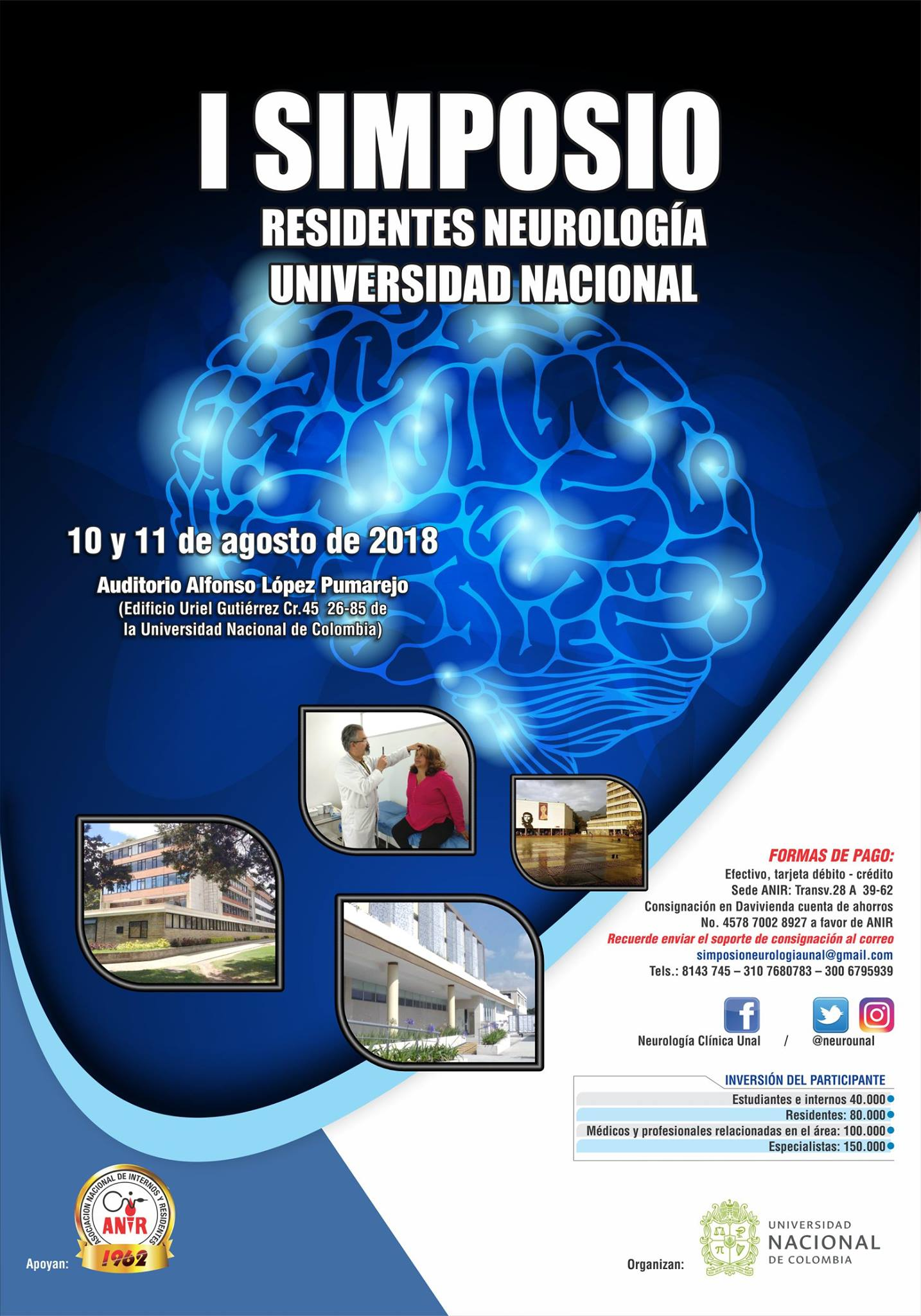 I Simposio de Residentes de Neurología de la Universidad Nacional de Colombia