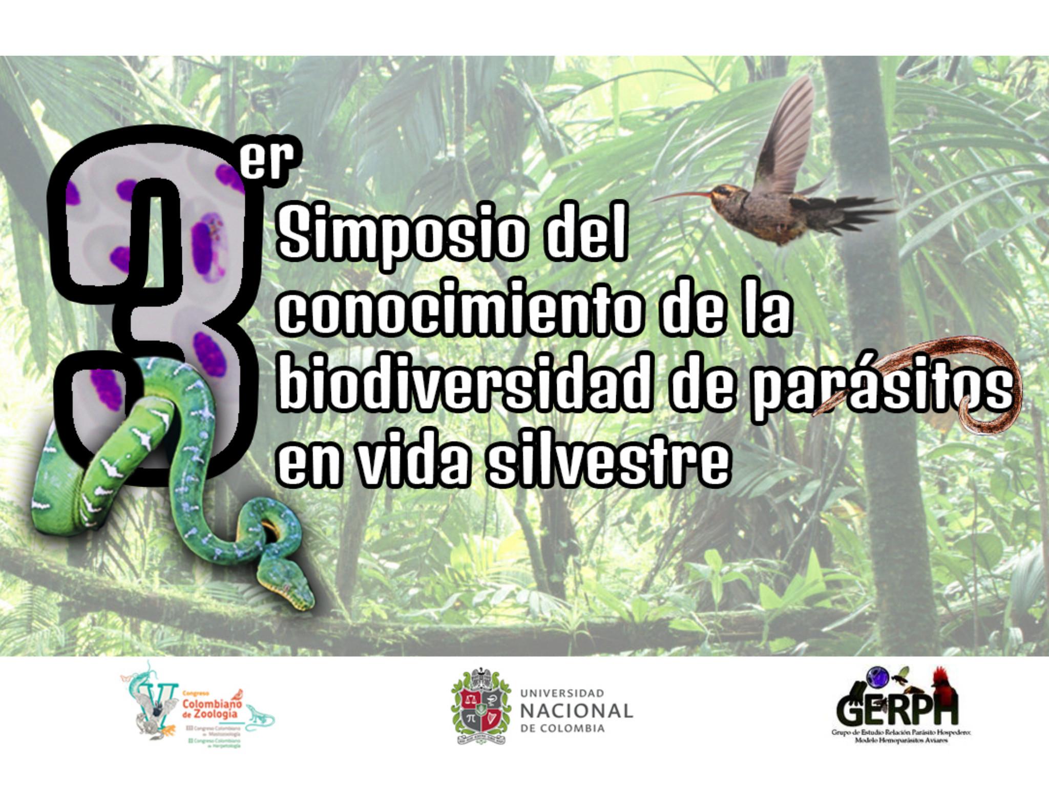 III Simposio del Conocimiento de la Biodiversidad                 de Parásitos en Vida Silvestre