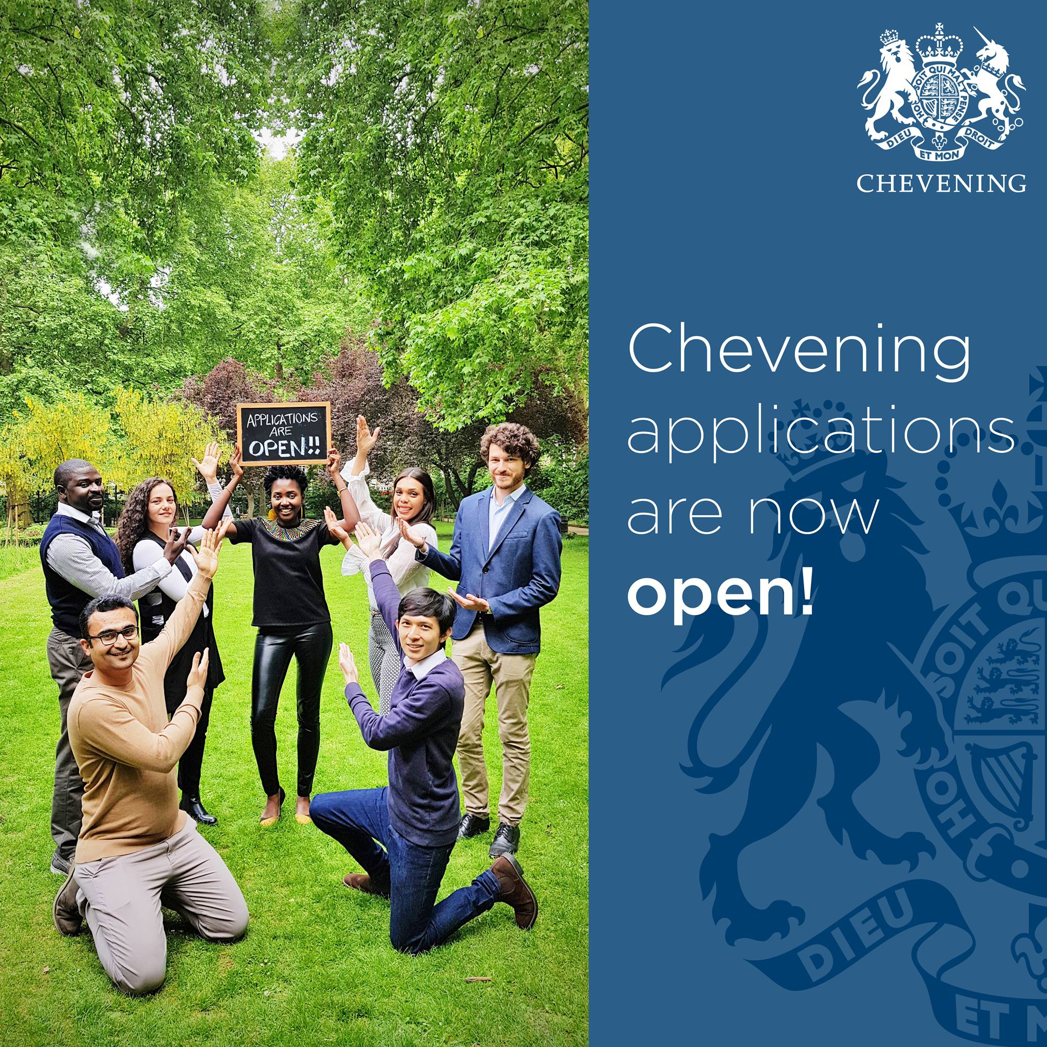 2018-2019 Chevening Scholarships