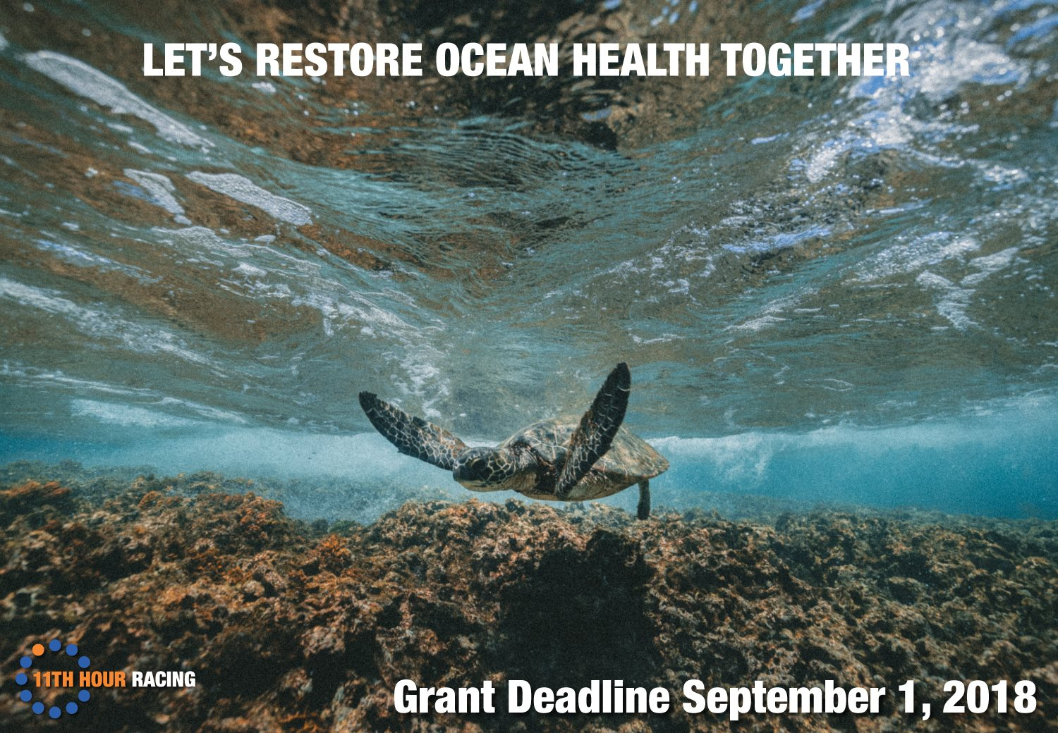Grant application: Improving Ocean Health through Sailing, Innovation and Stewardship (11th Hour Racing)