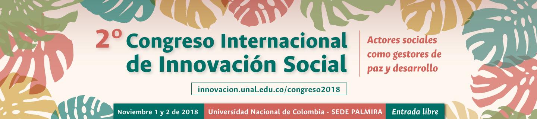 2do. Congreso Internacional de Innovación Social «Actores sociales como gestores de paz y desarrollo»