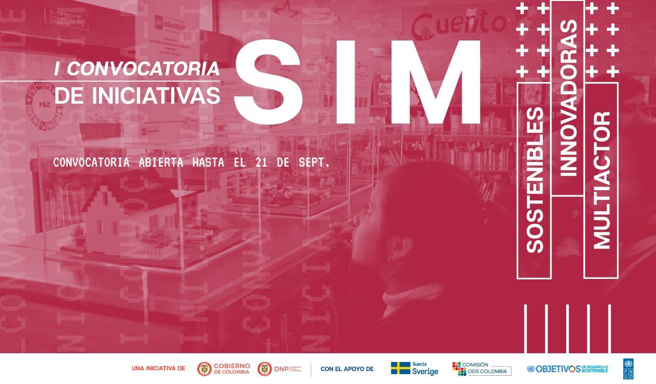 I Convocatoria de iniciativas SIM (sostenibles, innovadoras y multiactor para el desarrollo sostenible)